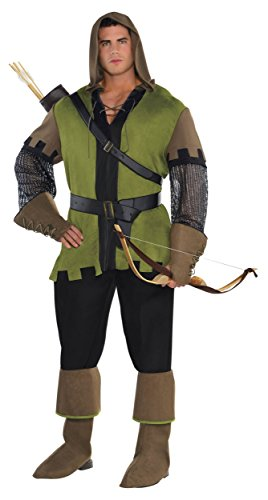Prince of Thieves Adult Costume - (Medieval Thief Costume)