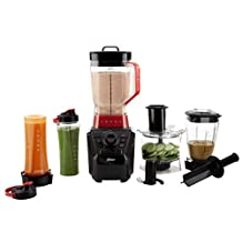 Oster Versa Pro  BLSTVB-104-000  Series Blender with Food Processor Attachment, Blend-N-Go® Smoothie Cups & 4-cup Mini Jar
