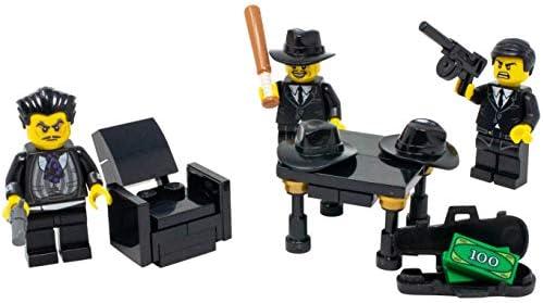 Custom Criminal Gang Minifigure Hitman Mob Boss Wise Guy Toy Lego Mafia Building Sets