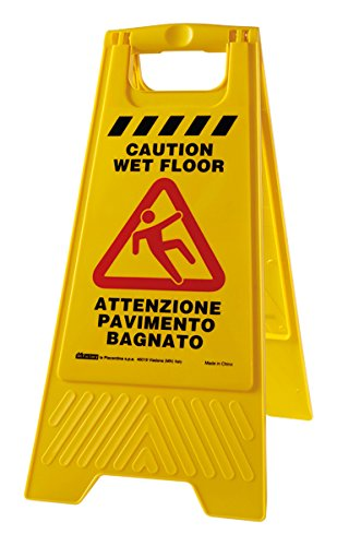 Perfetto Factory Wet Floor Cartello Pavimento Bagnato, Plastica ...