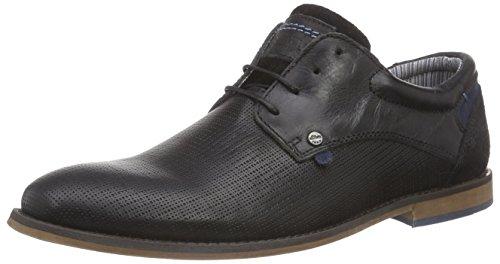 s.Oliver 13200 - Zapatos de cordones oxford Hombre Negro - Schwarz (BLACK/DENIM 083)