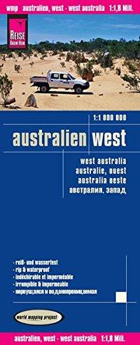 Reise Know-How Landkarte Australien, West (1:1.800.000): world mapping project
