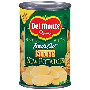 Del Monte Sliced New Potatoes 14.5 oz (Pack of 12) by Del Monte