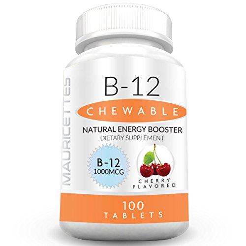 Vitamin B12 Methylcobalamin 1000 mcg Supplement - Non-GMO - Brain and Metabolism Booster - 100 Sublingual Methyl B 12 Energy Vitamins