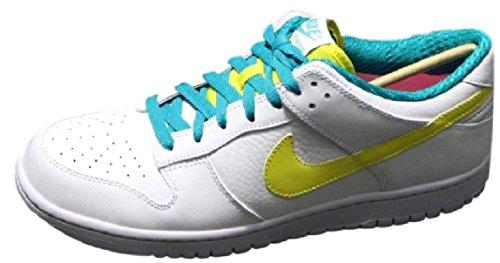 Nike Dunk Low Premium Gr EUR 45 UK 10 Leder Sneaker Schuhe weiß Zoom Force 318764