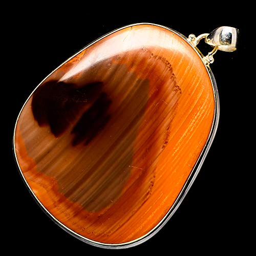 Ana Silver Co Huge Imperial Jasper 925 Sterling Silver Pendant 2 1/2