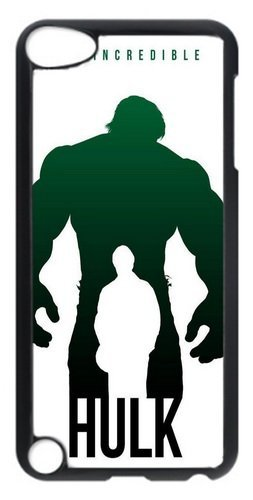 iPod Touch 5 Case,The Incredible Hulk Art Poster PC Hard Plastic Case For Apple iPod 5/iPod Touch 5