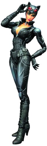 Square Enix Batman Arkham City: Play Arts Kai Catwoman Action Figure (Catwoman Arkham City)