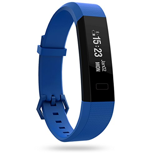 Boltt Beat HR Fitness Tracker with 6 Months Personalized Health Coaching (Dazzling Blue)