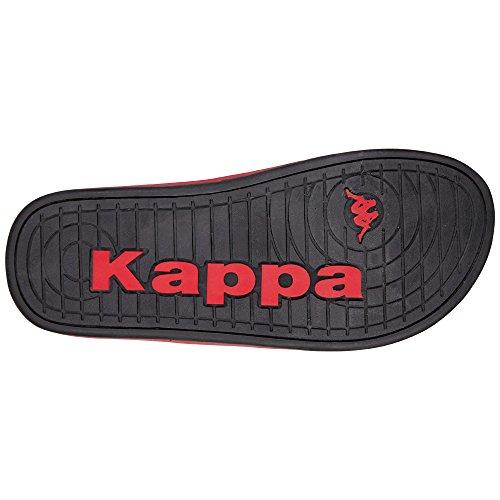 Kappa Plume, Chanclas Para Mujer Negro (Black/anthra)