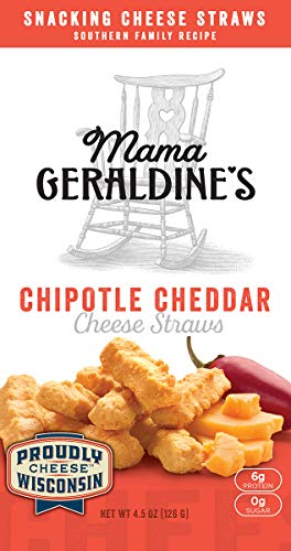 Geraldine's Cheese Straws, Chipotle Cheddar, 4.5 ()