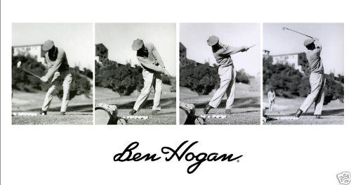 Ben Hogan 4 Photo Swing Sequence at Riviera