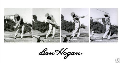 amazon com ben hogan 4 photo swing sequence at riviera prints