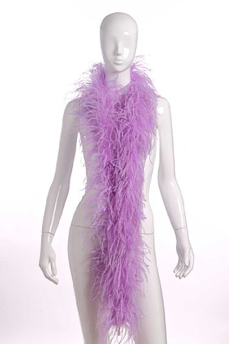 2 Plies Ostrich Boas Lavender