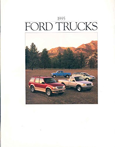 1995 Ford Van Bronco Pickup Truck (Ford Bronco Brochure)