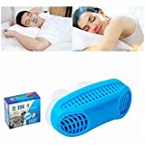Snoring Device Snoring Or Difficulty Breathing During Sleep Male and Female Air Purifier Comfortable to Sleep and Easy to Carry,Blue