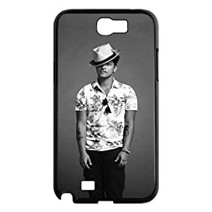 C-EUR Diy Phone Case Bruno Mars Pattern Hard Case For Samsung Galaxy Note 2 N7100