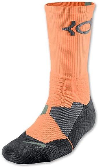 Monopolio habilidad exégesis  Amazon.com : Nike Hyper Elite Cushioned KD Basketball Socks (X-Large) :  Clothing
