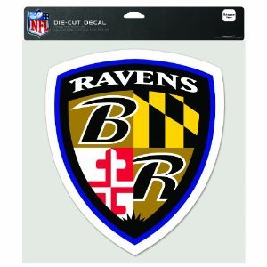 - WinCraft NFL Baltimore Ravens Multi-Use Colored Decal, 5