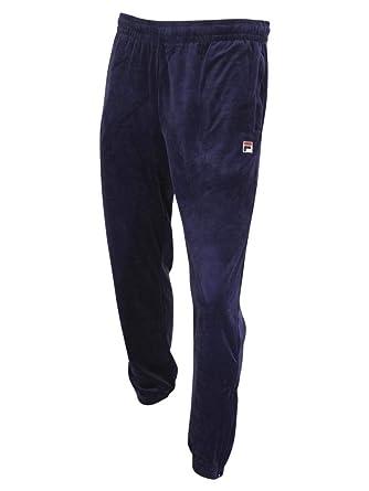 56c32976a5e Fila Men's Whyte Velour Jogger Track Pants at Amazon Men's Clothing store: