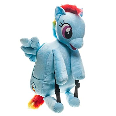 My Little Pony Jumbo Rainbow Dash Backpack: Clothing