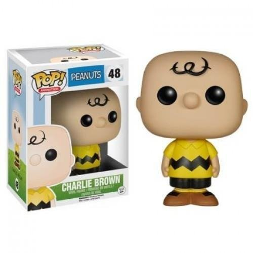 Funko POP! Television Peanuts Charlie Brown Vinyl Action Figure 48