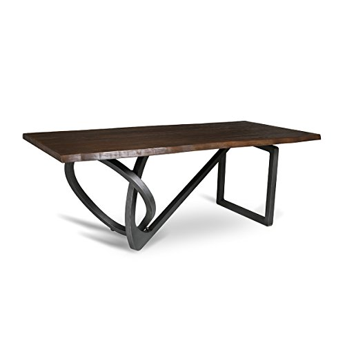 SOUTH CONE HOME Sicily Live Edge Dining Table, 84