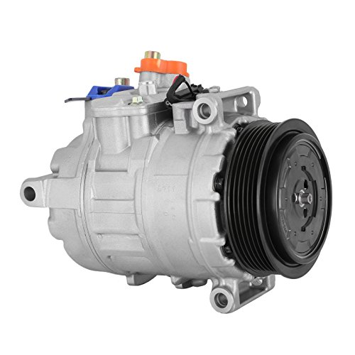 Ac Mercedes Compressor Benz (SucceBuy AC Compressor For Mercedes-Benz AC Compressor Clutch Fit For 2001-2012 Air Conditioning Compressor GL E CL ML RS)