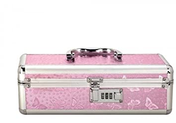 Lockable Sex Toy Storage Case - Pink - Small  sc 1 st  Amazon.com & Amazon.com: Lockable Sex Toy Storage Case - Pink - Small: Health ...