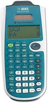 Texas Instruments TI30XSMV TI-30XS MultiView Scientific Calculator, 16-Digit LCD