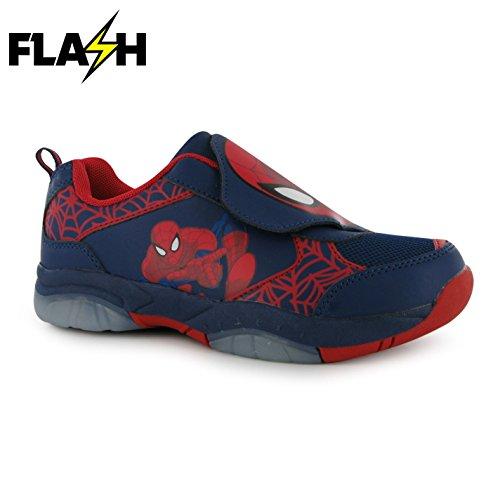 Character Kinder Jungen Turnschuhe Leuchtende Schuhe Spiderman