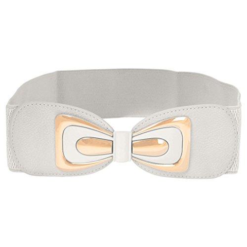 thick white belt - 9