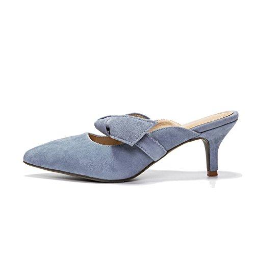 Compensées 5 BalaMasa Bleu Bleu 36 Femme Sandales TnFwU5