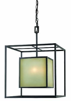 World Imports Lighting Hilden 4-Light Chandelier, Aged Bronze