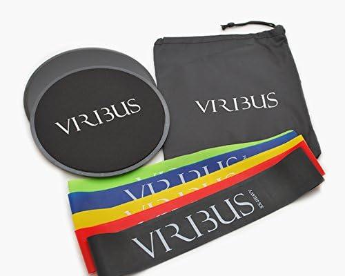 VIRIBUS Core Sliders Gliders Resistant Bands Set Core Training