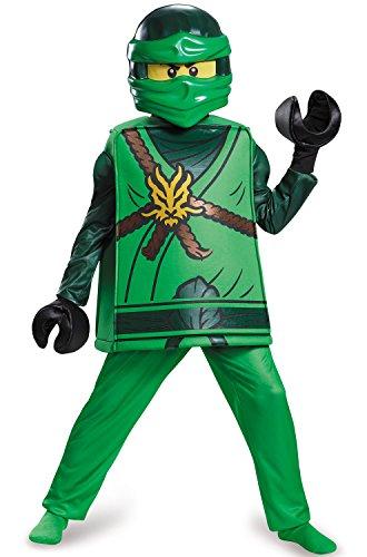$10 Halloween Costumes (Lloyd Deluxe Ninjago LEGO Costume, Large/10-12)