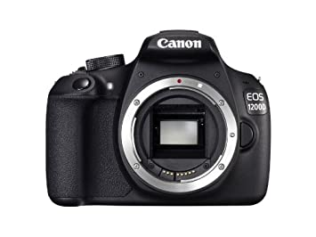 """Canon EOS 1200D - Cámara réflex digital de 18 Mp (pantalla 3"""", vídeo Full HD), color negro - sólo cuerpo (importado)"""