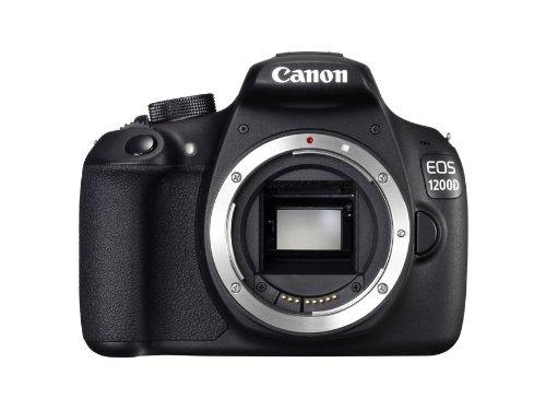 338 opinioni per Canon EOS 1200D Body Fotocamera Reflex Digitale 18 Megapixel, Nero