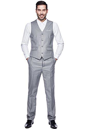 69a82582e059 WEEN CHARM Mens Suits 2 Button Slim Fit 3 Pieces Suit | Weshop Vietnam