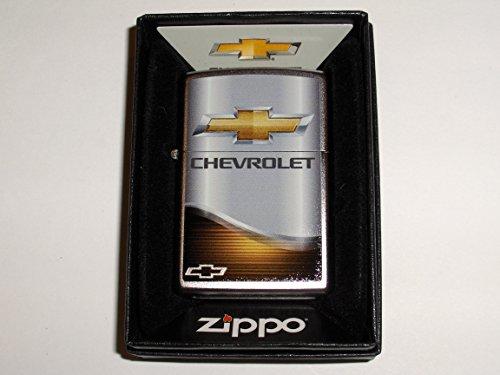 (Zippo Chevrolet Chevy Bowtie Elegance Chrome Lighter)