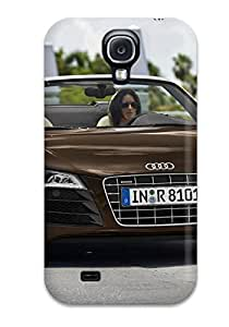 Tpu Case Cover Compatible For Galaxy S4/ Hot Case/ Audi R8 Spyder 36