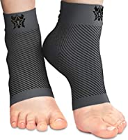 Bitly Plantar Fasciitis Compression Socks for Women & Men - Best Ankle Compression Sleeve, Nano Brace for