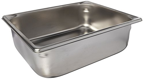 """Price comparison product image Vollrath (30242) 4"""" Deep Super Pan V Stainless Steel Half-Size Steam Table Pan"""