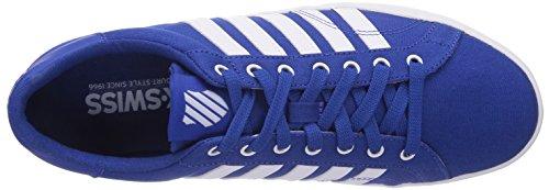 K-swiss Mens Belmont So T Mode Sneaker Classique Bleu / Blanc