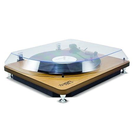ION PURELP/WD - Ion Pure LP Plato Tocadiscos Madera: Amazon.es ...
