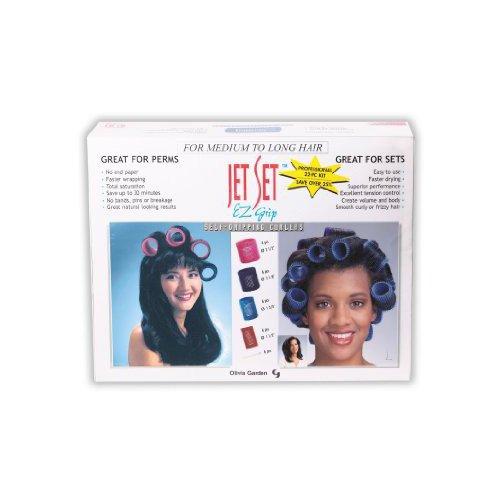 Olivia Garden Jet Set Professional Roller Value Kit - (010 Jet)
