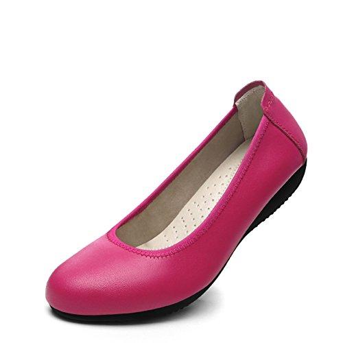 escoge los zapatos/ flat-bottom zapatos/Negro zapatos de las mujeres profesionales/ zapatos negros salvajes C