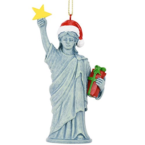 Tree Buddees Xmas Liberty Christmas Statue of Liberty Figurine Ornament ()