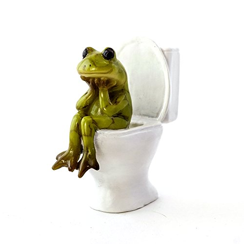 Top Collection The Thinker Frog 2.5-Inch Mini Collectible...
