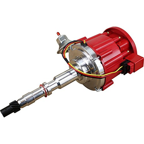 Dragon Fire High Performance Race Series Complete HEI Electronic Ignition Distributor Compatible Replacement For AMC Jeep 290-401 V8 Oem Fit DJ8-DF